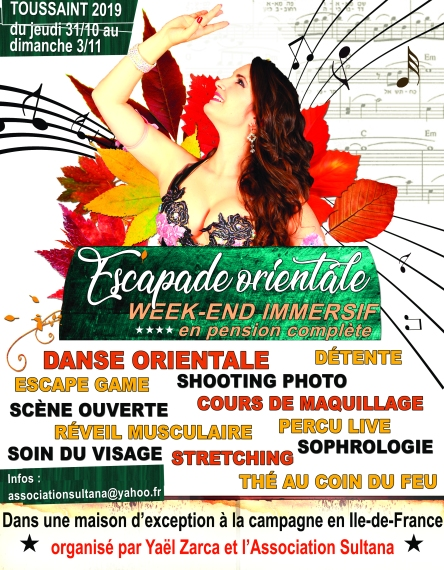 flyer escapade orientale